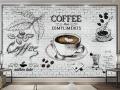 Tranh Dán Tường Quán Coffee