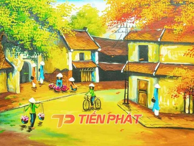 Tranh Dán Tường Đồng Quê DQ13