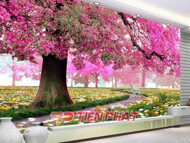 Tranh Dán Tường Phong Cảnh Thiên Nhiên PCTN13